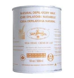 Sharonelle Sharonelle Natural Depilatory Wax - Milk Cream-18 oz 500 ml