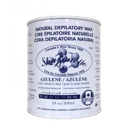 Sharonelle Sharonelle Natural Depilatory Wax - Azulene-18 oz 500 ml