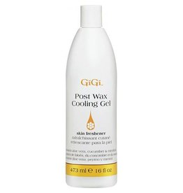 GiGi Gigi Post Wax Cooling Gel - skin freshener 473 ml 16 oz- aloe vera, cucumber and menthol