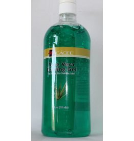 Cacee Aloe Vera Cooling Gel with vitamin E for Post-wax relief 32 oz