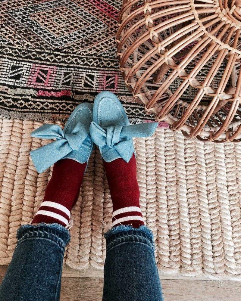 Denim Open Loafer