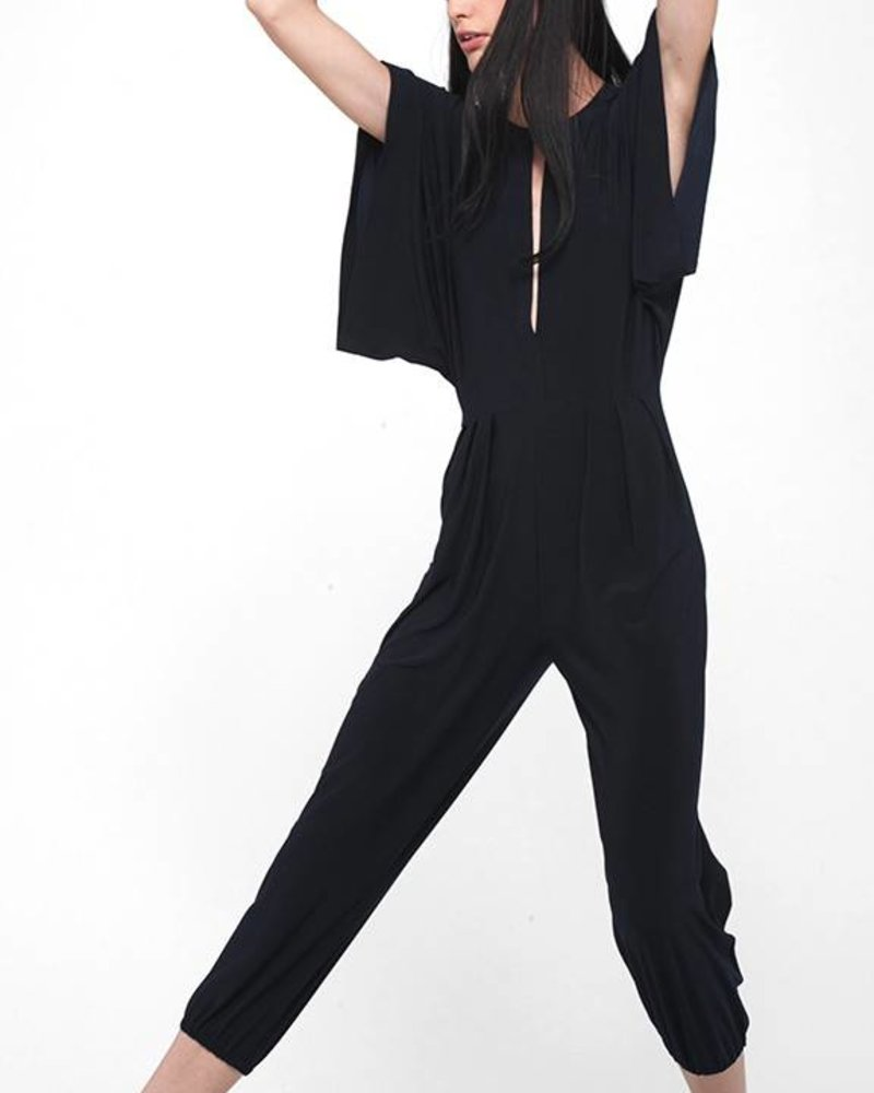 Norma Kamali Rectangle Jog Jumpsuit
