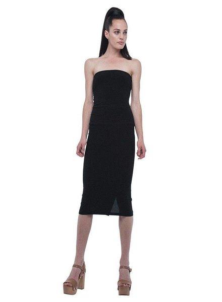 Norma Kamali Strapless Dress To Knee
