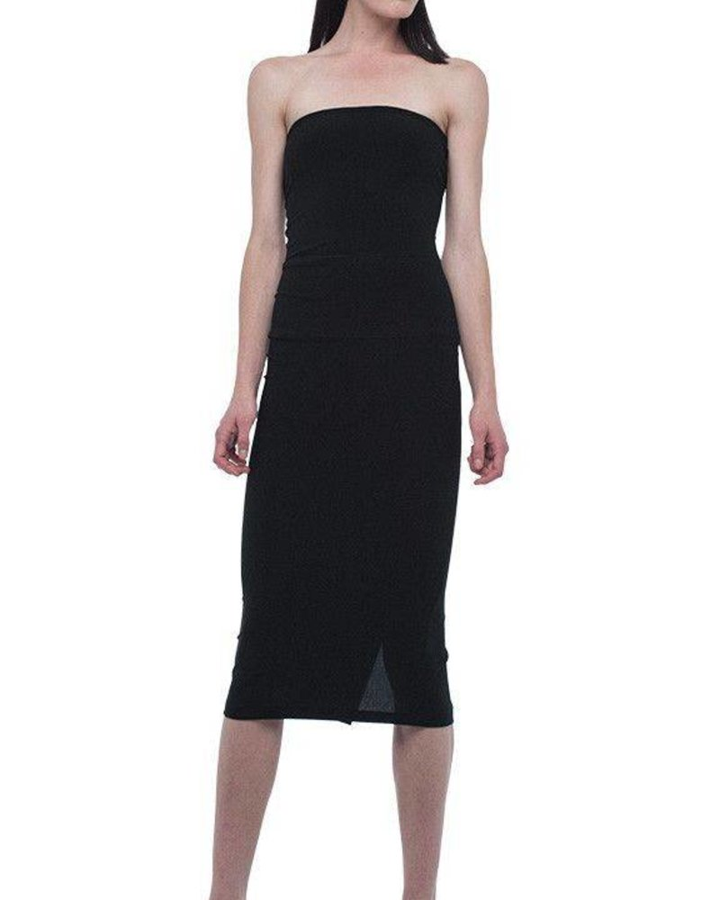 Norma Kamali Strapless Dress To Knee