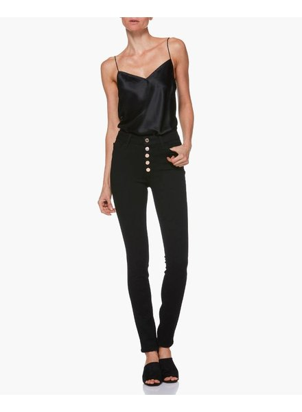 PAIGE Hoxton Ultra Skinny w/ Exposed Button Fly
