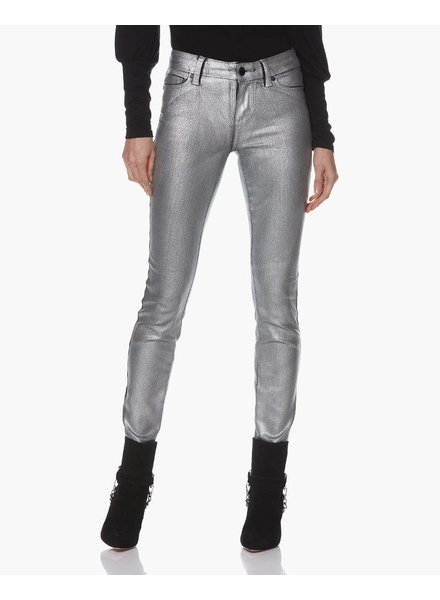 PAIGE Verdugo Ultra Skinny - Silver Galaxy Coating