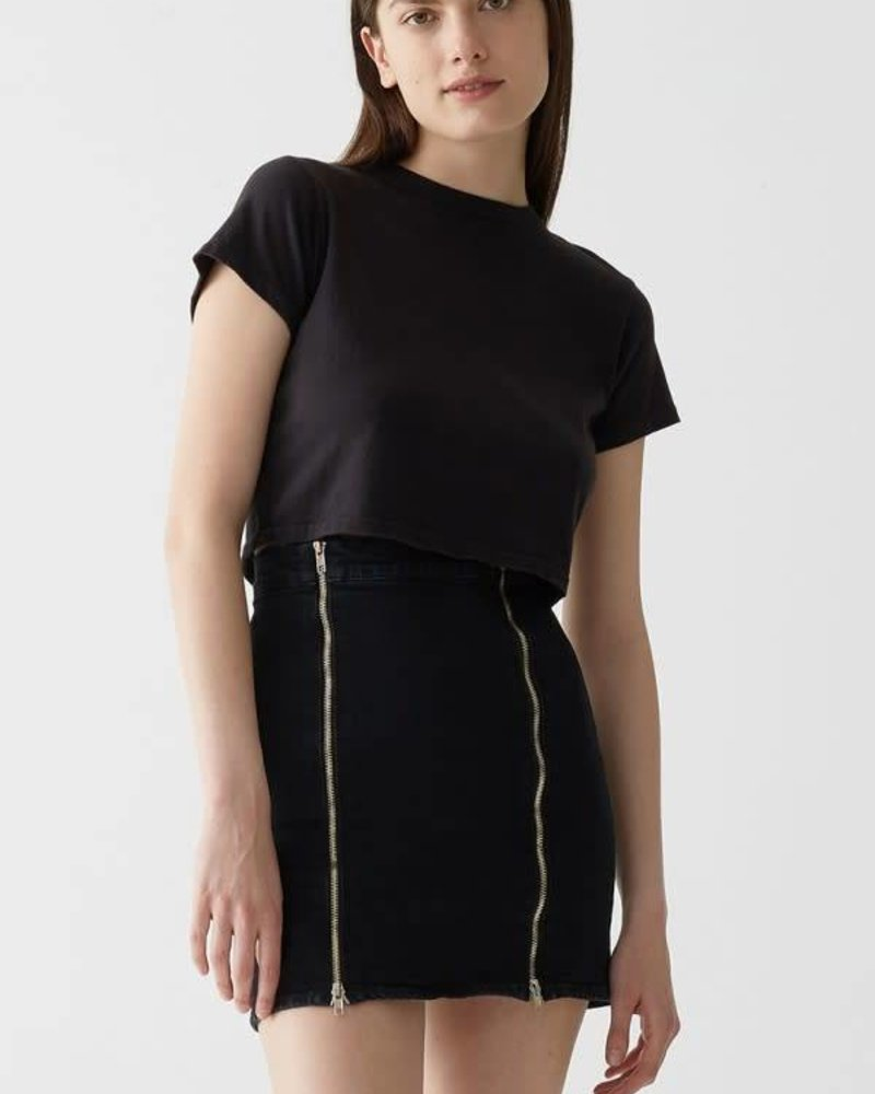 Agolde Cropped Baby Tee