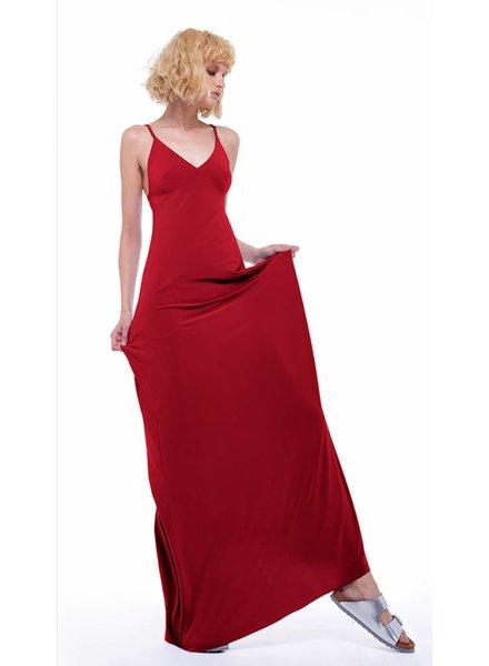 Norma Kamali Slip A Line Long Dress