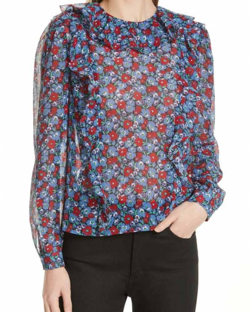 Juliette Ruffle Blouse