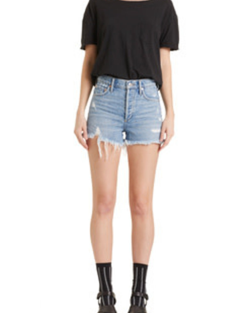 Agolde Jaden Hi Rise Cut-Off Short
