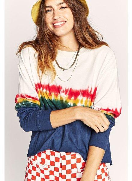 Daydreamer Rainbow Tie Dye Crop