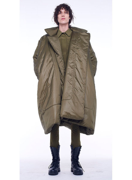 Norma Kamali Blanket Sleeping Bag Coat