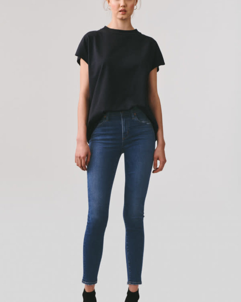 Agolde Sophie Crop Mid Rise