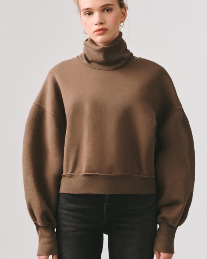 Agolde Balloon Sleeve Turtleneck Sweater
