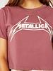 Daydreamer Metallica Young Metal Rebel Crop Tee