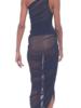 Norma Kamali Diana Gown Mesh