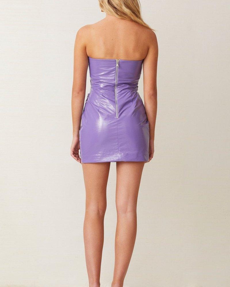 Bec + Bridge Wax on Mini Dress