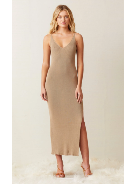 Bec + Bridge Sandy Midi Knit Dress