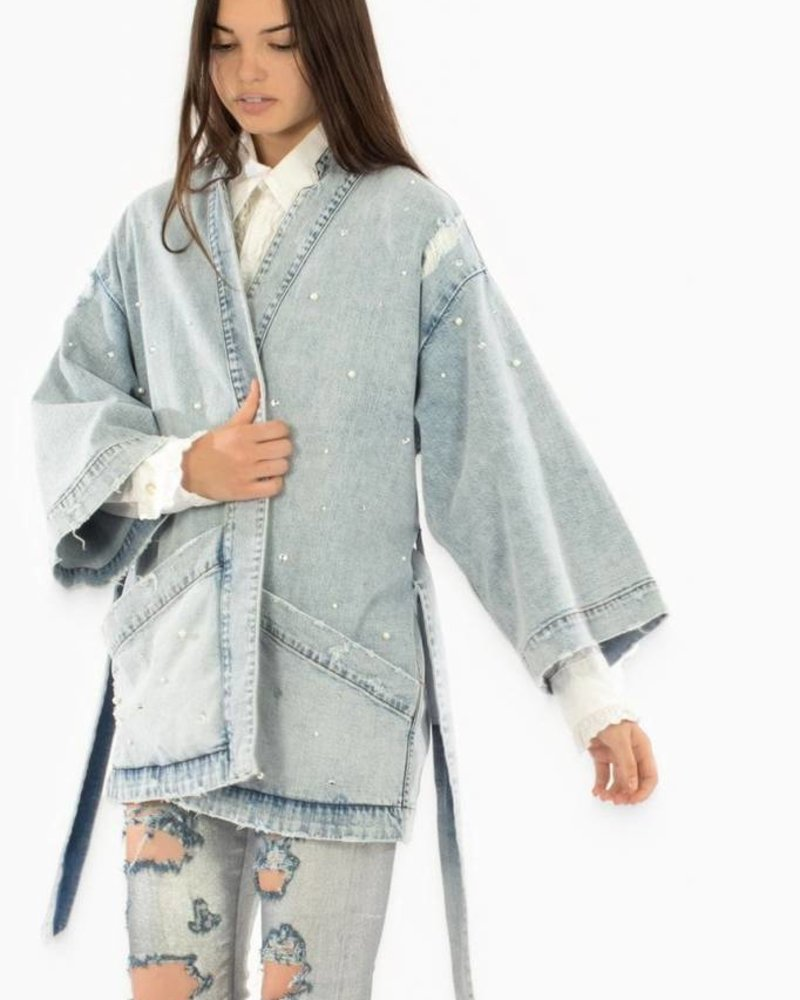 SIWY Kaya Denim Kimono