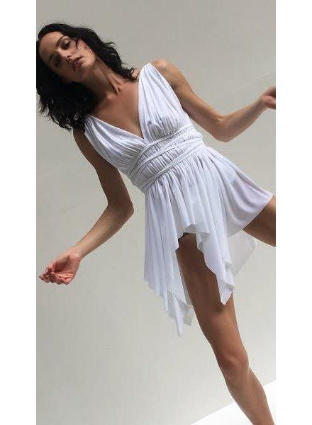 Norma Kamali Goddess Swim Dress