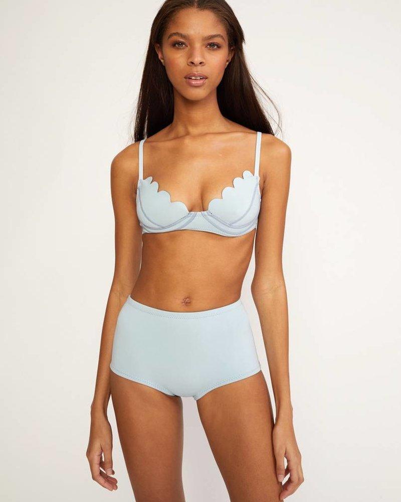 Cynthia Rowley Scallop Bikini Top