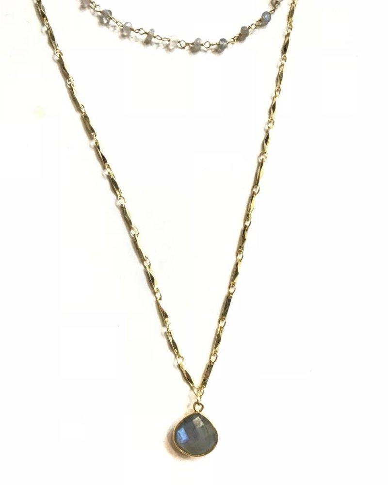Midori Linea Magical Galaxy 2Tier Necklace