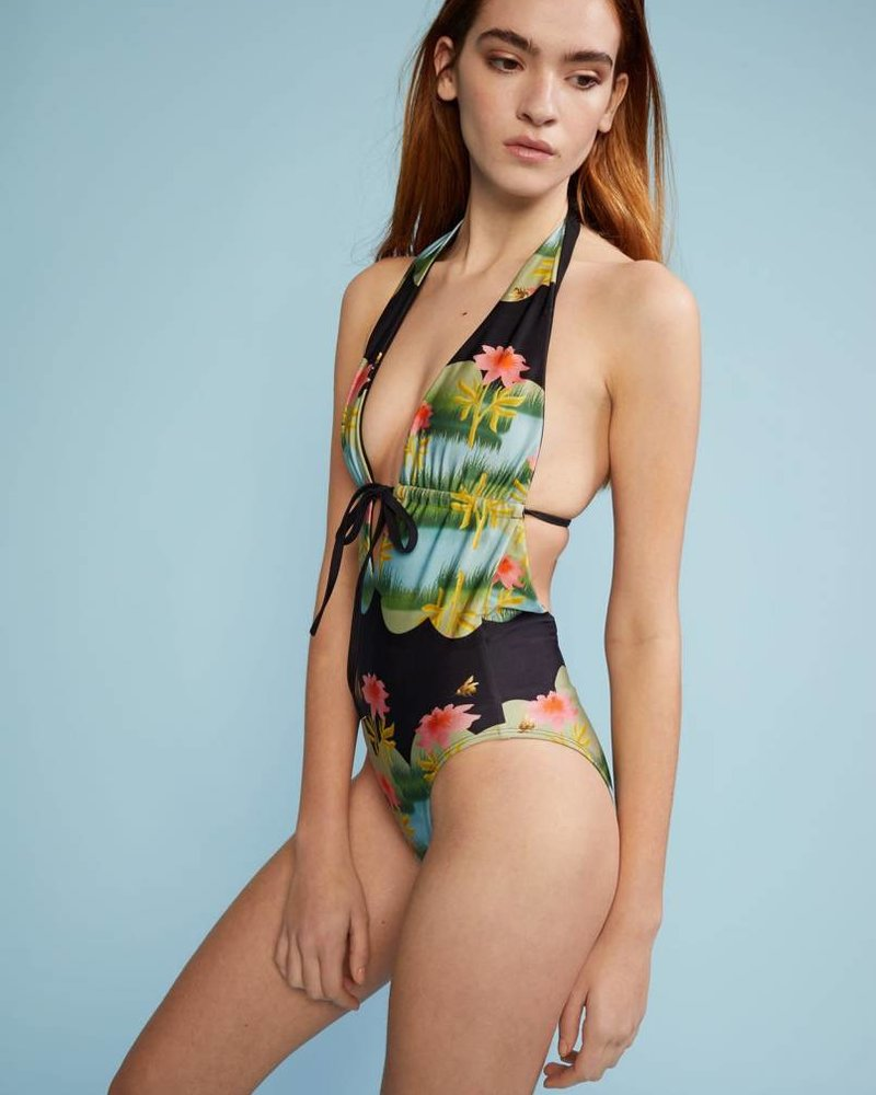 Cynthia Rowley Heartbreakers One Piece