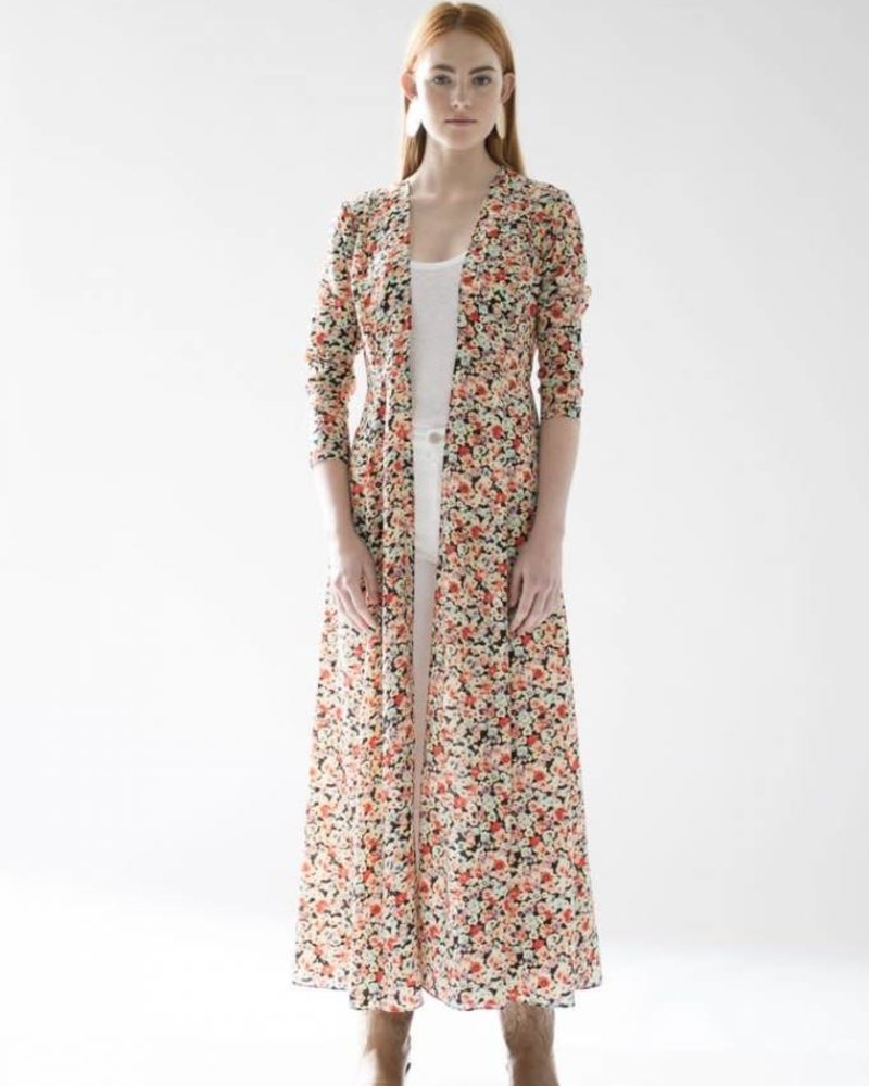 We Are Leone Maxi Cardigan Floral