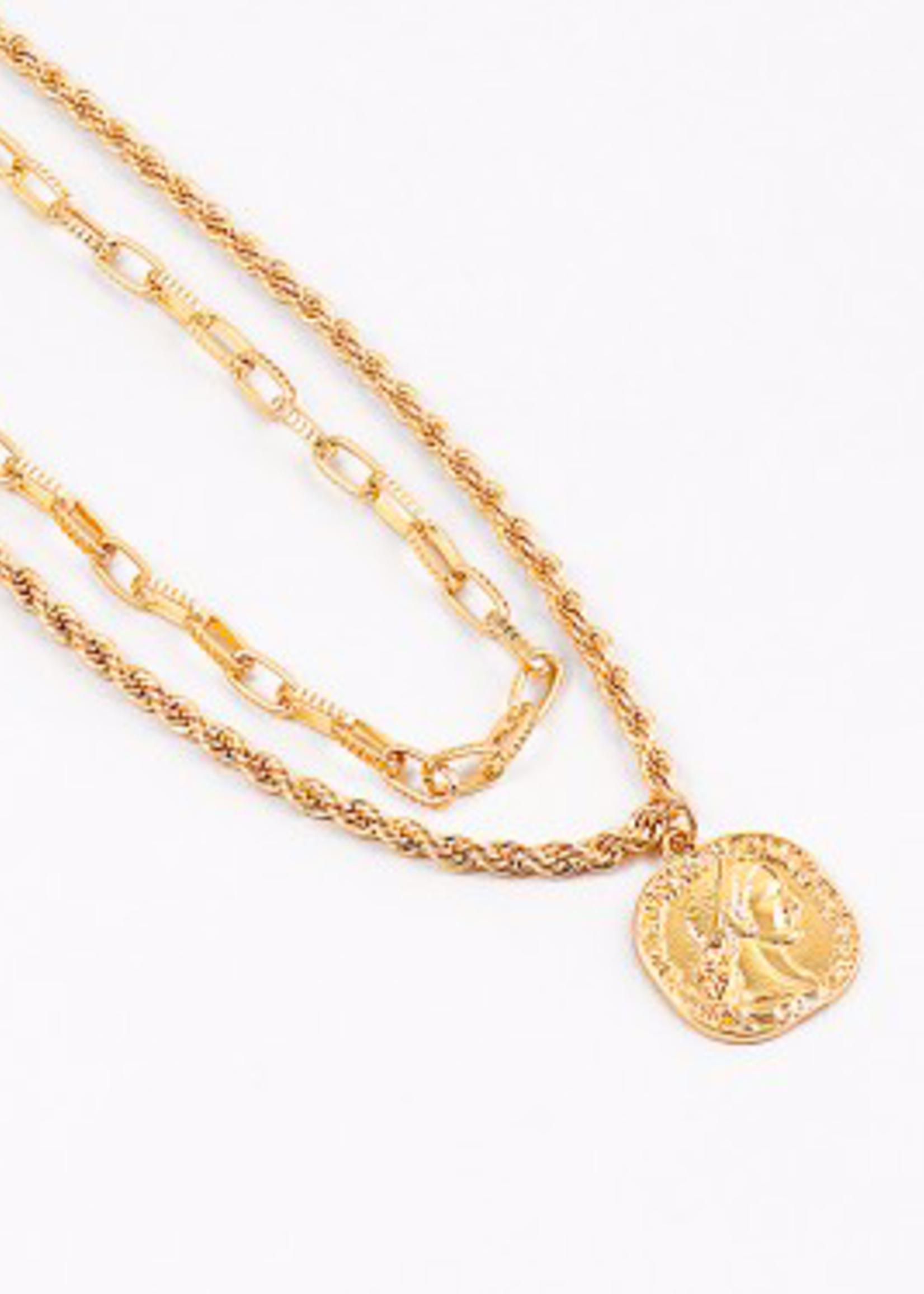 hula sue lovely links necklace