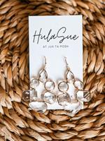 hula sue on thin ice earrings