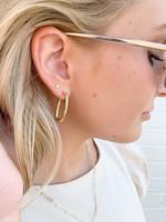 hula sue single link earrings