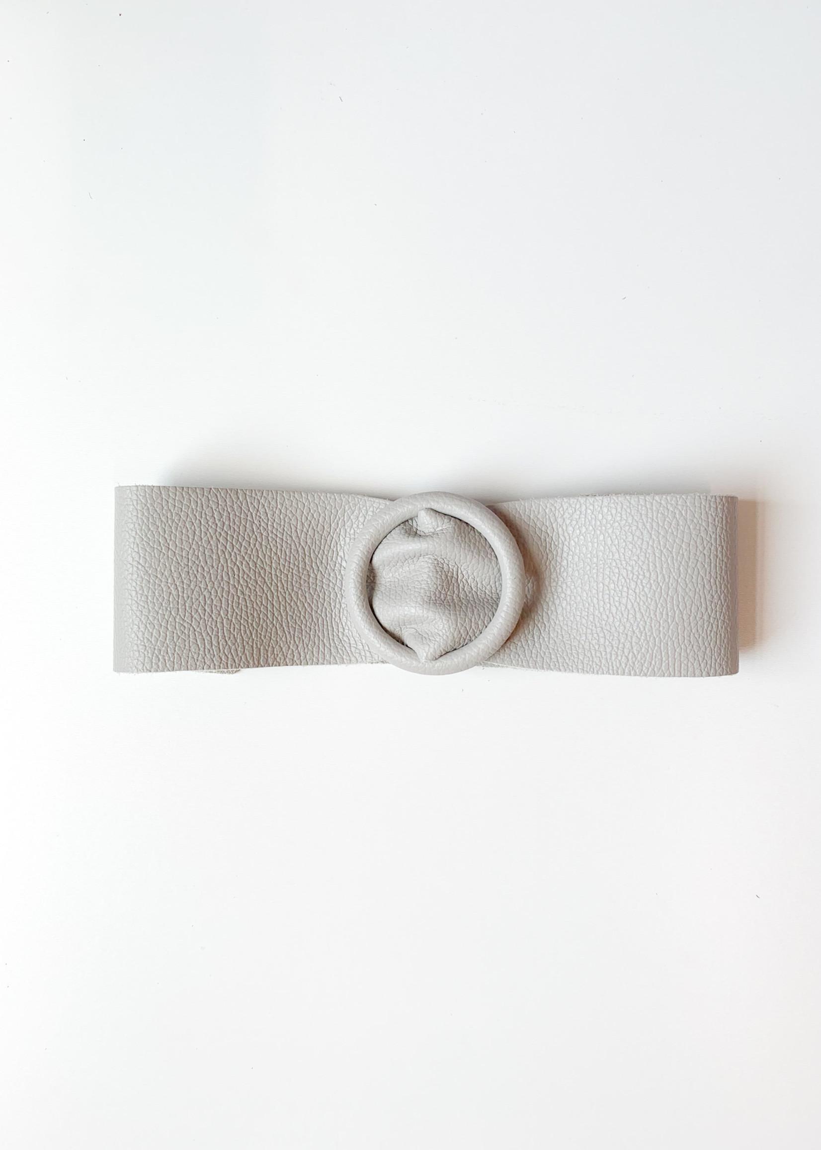hula sue circle belt - grey