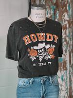 hula sue howdy tee