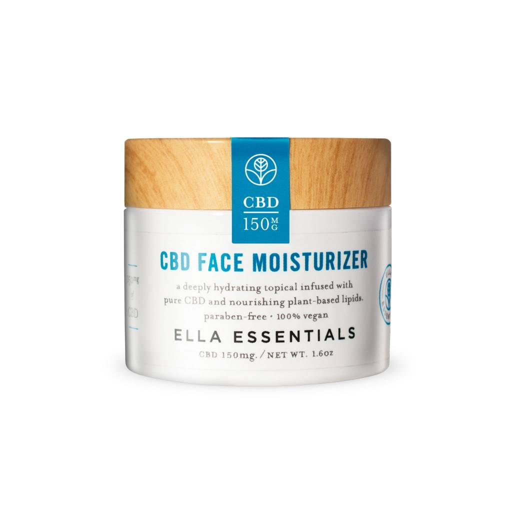 Urban Roots Hemp Co Ella Essentials CBD Face Moiturizer