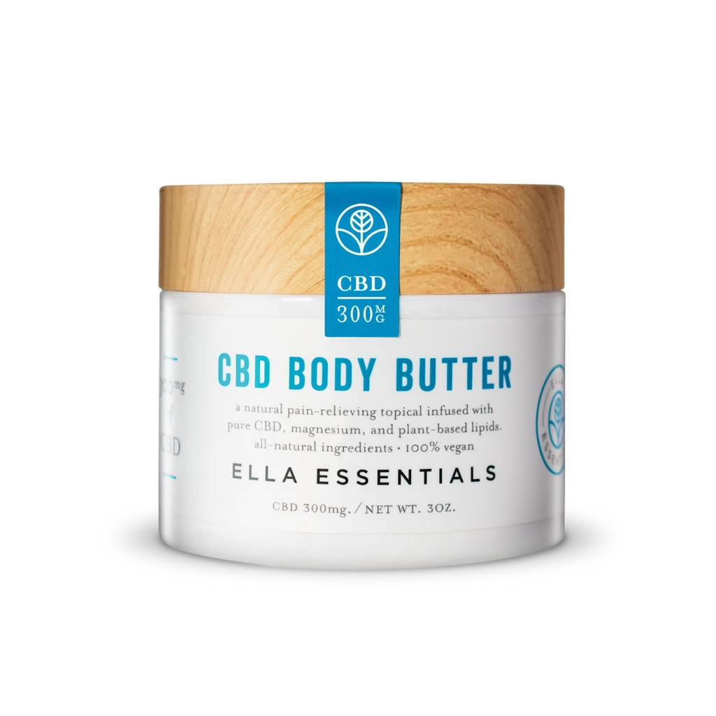 Urban Roots Hemp Co Ella Essentials CBD Body Butter