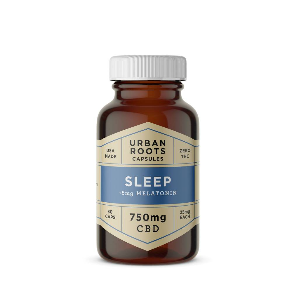 Urban Roots Hemp Co Urban Roots CBD Sleep Capsules