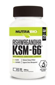 Nutrabio Ashwagandha KSM 66