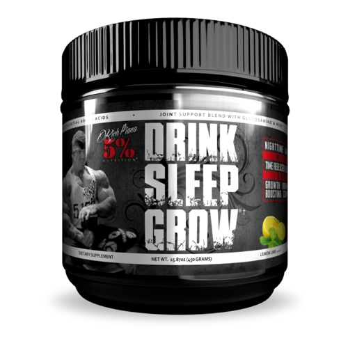 5 Percent Drink Sleep Grow