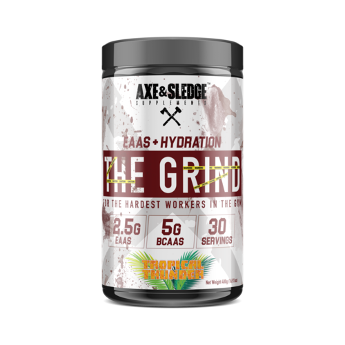Axe & Sledge THE GRIND // EAAs, BCAAs, & Hydration
