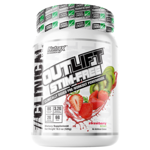 Nutrex Outlift  Stim Free Strawberry Kiwi 20 servings