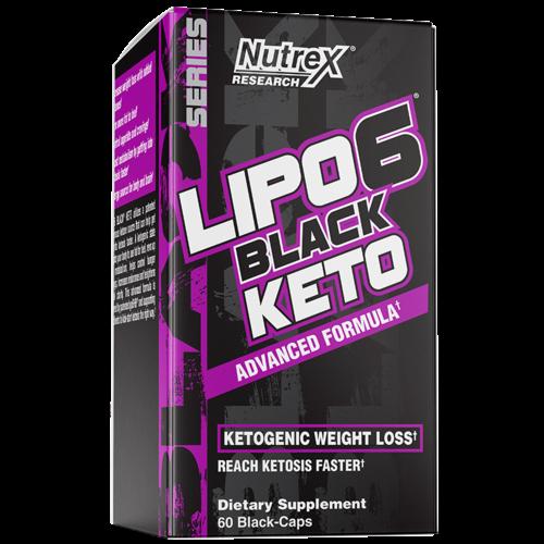 Nutrex Lipo 6 Black Keto