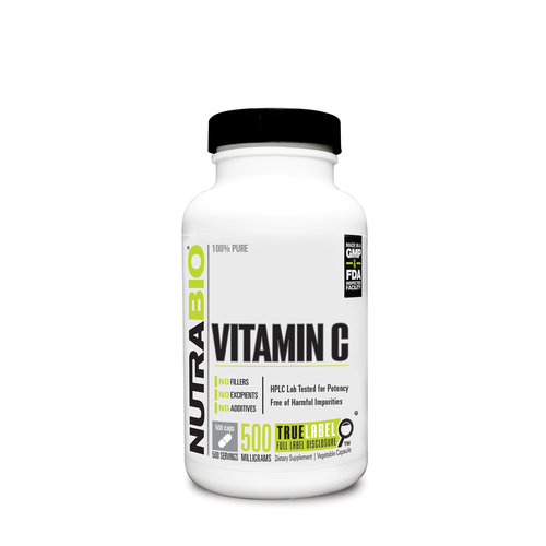 Nutrabio Vitamin C (1000mg) with Rose Hips