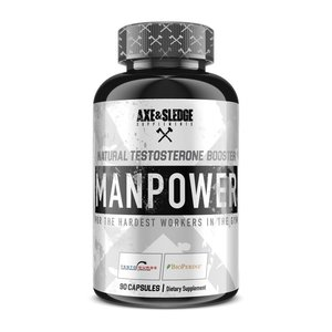 Axe & Sledge MANPOWER // Natural Testosterone Booster