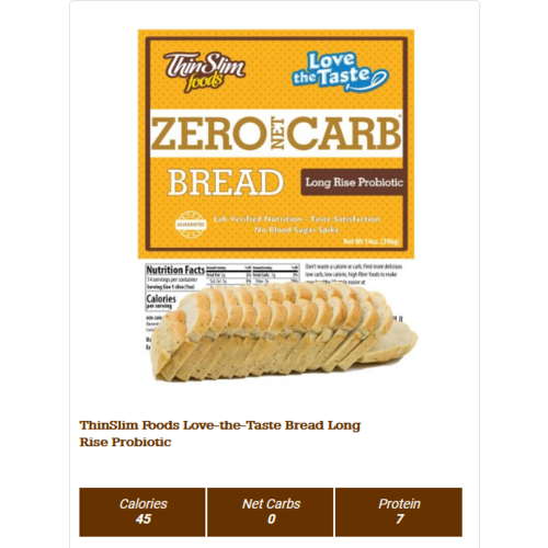Thin Slim Foods ThinSlim Bread
