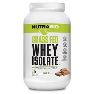 Nutrabio Grass Fed Whey Protein Isolate (2lb)