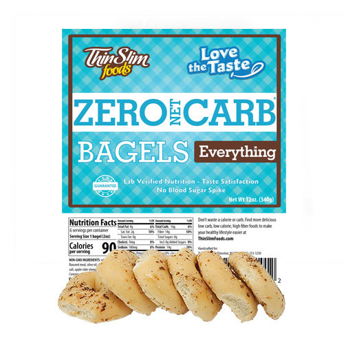 Thin Slim Foods Love-The-Taste Thin Slim Bagels
