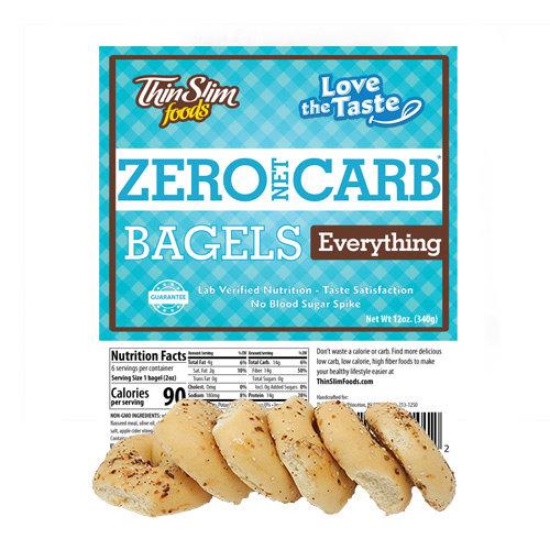 Thin Slim Foods Love-The-Taste Thin Slim Bagels