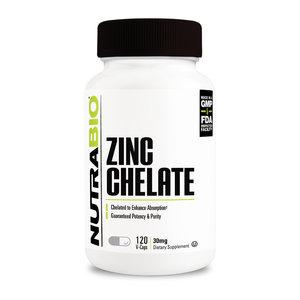Nutrabio Zinc Chelate - 30mg