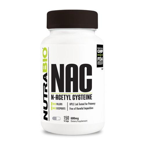 Nutrabio N Acetyl Cysteine (NAC) (600 mg)