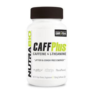 Nutrabio CaffPlus - Caffeine & L Theanine